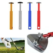 Portable Golf Club Groove Sharpener Wedge Cleaner Regrooving Tool 6 Heads