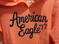 NWT Women American Eagle AE Signature Graphic Hoodie S