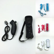 2In1 Remote Controller Built in Plus Motion + Nunchuck + Case For Nintendo Wii