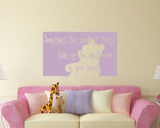 Sometimes The Smallest Things Quotes Wall Decals Winnie Pooh Vinyl Sticker aa229