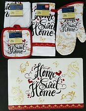 KITCHEN HOME SWEET HOME THEME LINEN & PLACEMAT SET, SELECT: ITEMS