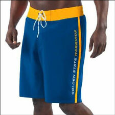 Golden State Warriors G-III Sports by Carl Banks Endurance Swim Trunks - NBA