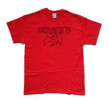 LED ZEPPELIN Knebworth '79 screen printed T SHIRT