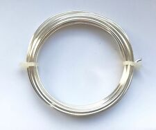 Silver Plated Craft Jewellery Making Non Tarnish Copper Wire 1.25mm 1.5mm 2mm