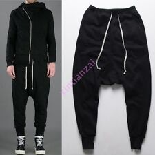 Mens Athletic ankle pants Harlan Casual baggy Comfort Vogue trousers Street Hot
