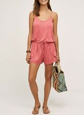 ANTHROPOLOGIE Saturday Sunday Terry Lounge Romper NwT Large