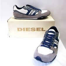 Diesel Shoes Gunner Sneakers Men Grey New