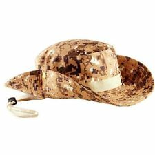 Camo Bucket Hat Boonie Hunting Fishing Outdoor Cap Wide Brim Military Unisex Sun