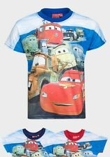 BOYS TODDLER LIGHTNING McQUEEN CARS SHORT SLEEVE T-SHIRT TOP