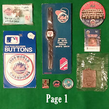 New York Mets VINTAGE Ring Pins Pinback Buttons or Various OTHERS