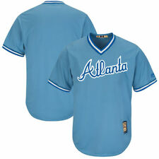 Atlanta Braves Majestic Cooperstown Cool Base Replica Team Jersey - Light Blue