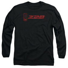 Chevy The Z28 Mens Long Sleeve Shirt Black