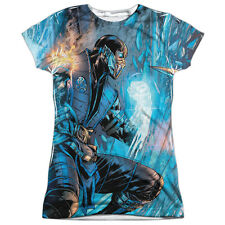 Mortal Kombat Kombat Comic Juniors Sublimation Polyester Shirt