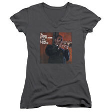 John Coltrane Last Trane Juniors V-Neck Shirt