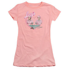 I Love Lucy Chocolate Factory Juniors Premium Bella Shirt