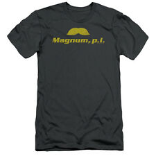 Magnum Pi The Stache Mens Slim Fit Shirt