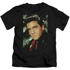 Elvis Red Scarf Little Boys Juvy Shirt