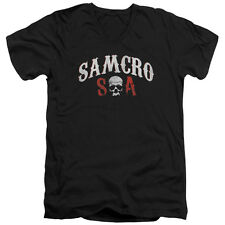 Sons Of Anarchy Samcro Forever Mens V-Neck Shirt