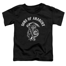 Sons Of Anarchy Soa Reaper Little Boys Shirt Black (2T)