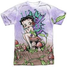 Betty Boop Fairy Mens Sublimation Polyester Shirt