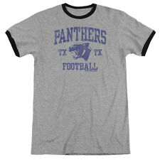 Friday Night Lights Panther Arch Mens Adult Heather Ringer Shirt