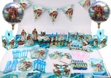 Moana Maui Birthday Party Decoration Kids Girls Supplies Tableware Favor Gift