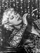 Mae West Posed in Black and White High Quality Photo