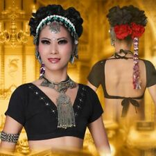 Tribal Belly Dance Gypsy Style Crop Top  Dance Costume
