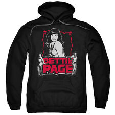 Bettie Page Bettie Scary Hot Mens Pullover Hoodie