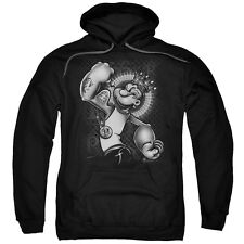Popeye Spinach King Mens Pullover Hoodie