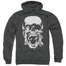 Green Lantern DC Comics Black Lantern Skull Adult Pull-Over Hoodie