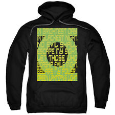Green Lantern DC Comics Green Lantern Oath Black Adult Pull-Over Hoodie