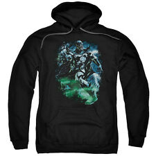 Green Lantern DC Comics Black Lantern Batman Adult Pull-Over Hoodie