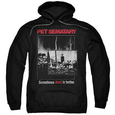 Pet Semetary Horror Novel Movie Stephen King Cat Poster Adult Pull-Over Hoodie