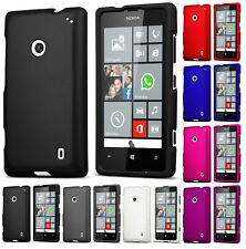 NEW PROTEX RUBBERIZED HARD SHELL CASE SLIM COVER FOR NOKIA LUMIA 520 PHONE