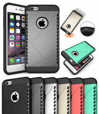 TOUGH SLIM ARMOR SHIELD RUGGED TPU RUBBER HARD CASE COVER FOR APPLE iPHONE 6 6s