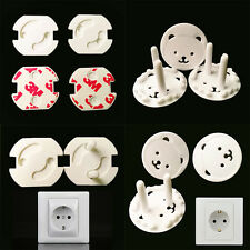 10Pcs Baby Kids Electrical Safety Protective Socket Outlet Plug Safe Lock Cover