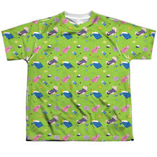 Adventure Time Green Fields Big Boys Youth Sublimated Polyester Shirt