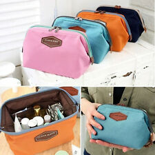 Women Travel Makeup Bag Toiletry Cosmetic Case Handbag Organizer Storage Pouch