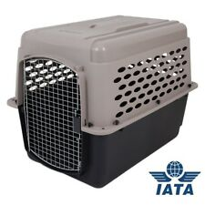 Portable Airline Approved Pet Carrier Dog Travel Crate Kennel Cage Safe Door
