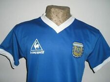 VINTAGE Mexico WORLD CUP 86 ARGENTINA MARADONA RETRO SOCCER AWAY JERSEY SHIRT