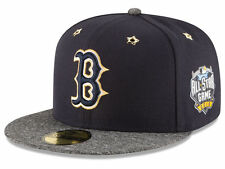 Boston Red Sox MLB All Star Game 59FIFTY On Field Flat Brim Fitted Hat Cap 7 1/2