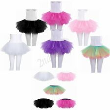 Multi-layers Women's Adult Tulle Tutu Skirts Ballet Princess Fancy Dress Party