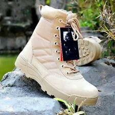 MENS SPECIAL FORCES MILITARY BOOTS ARMY TACTICAL COMBAT OUTDOOR SHOES SWAT New
