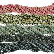 1 Piece Natural Faceted Gemstone Beads Spacer Well Polished Round Shape,6mm