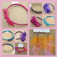 NWT Baby toddler GIRL Children's Place hair accessories bow clip band headband