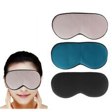 Eye Mask Sleep Blindfold Cover Travel Relax for Rest Aid Soft Mulberry Silk