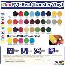 """HTV PVC (NOT STICKY) FOR T-SHIRT 20""""X5 YARDS. COMMERCIAL QUALITY 100% GUARANTEE!"""