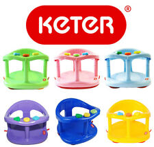 KETER Infant Baby Bath Tub Ring Safety Seat Anti Slip Chair Child Toy