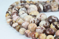 Natural Zebra Jasper Stone Beads, Gemstone Round Beads 6mm,8mm,10mm,12mm
